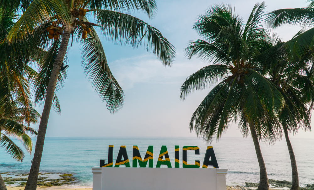 Quiz About Flags: The flag of Jamaica.