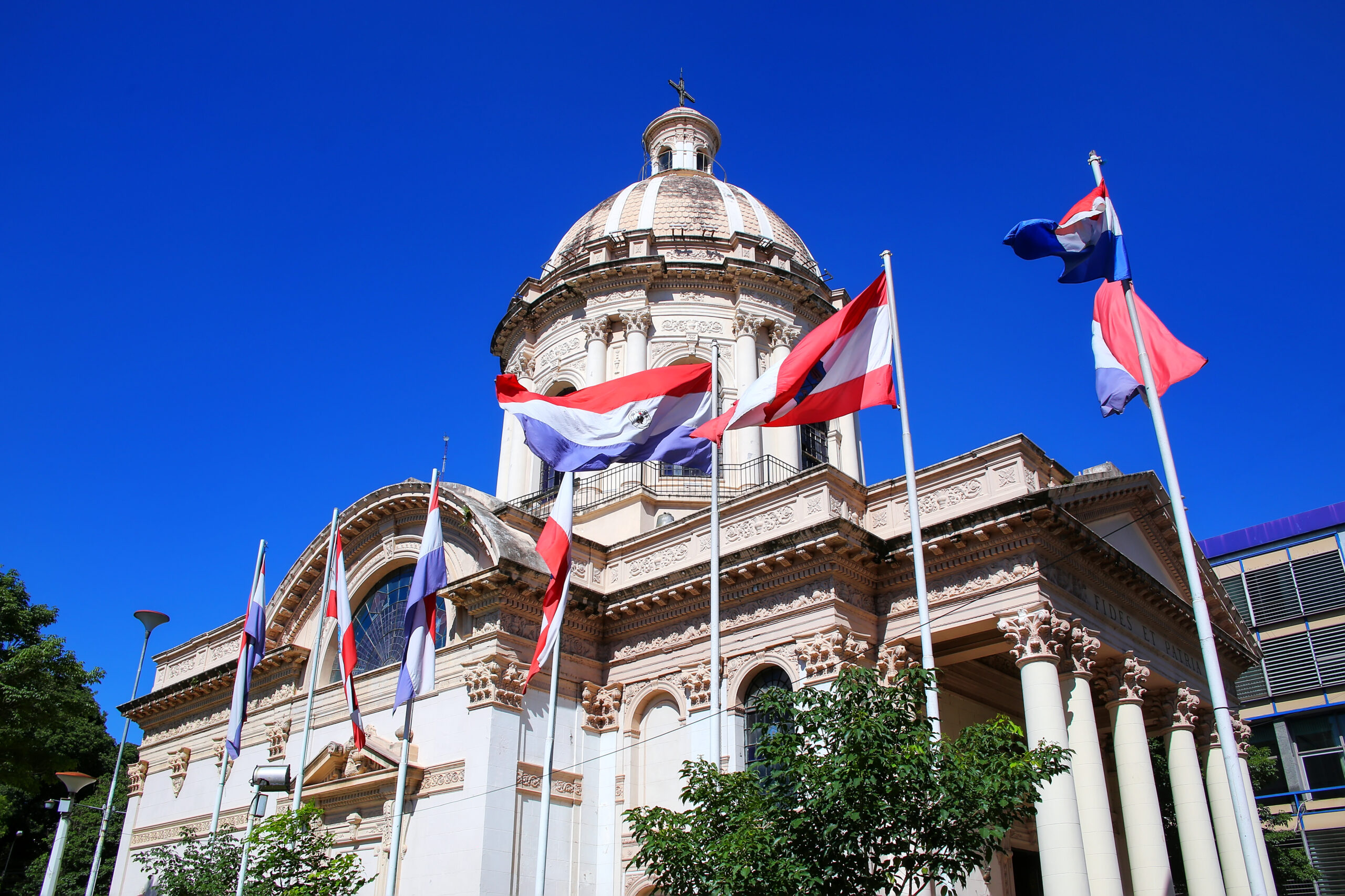The National Pantheon Of The Heroes In Asuncion, Paraguay.